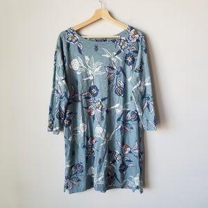 Patagonia Worn Wear Seatoller Floral Dress Large